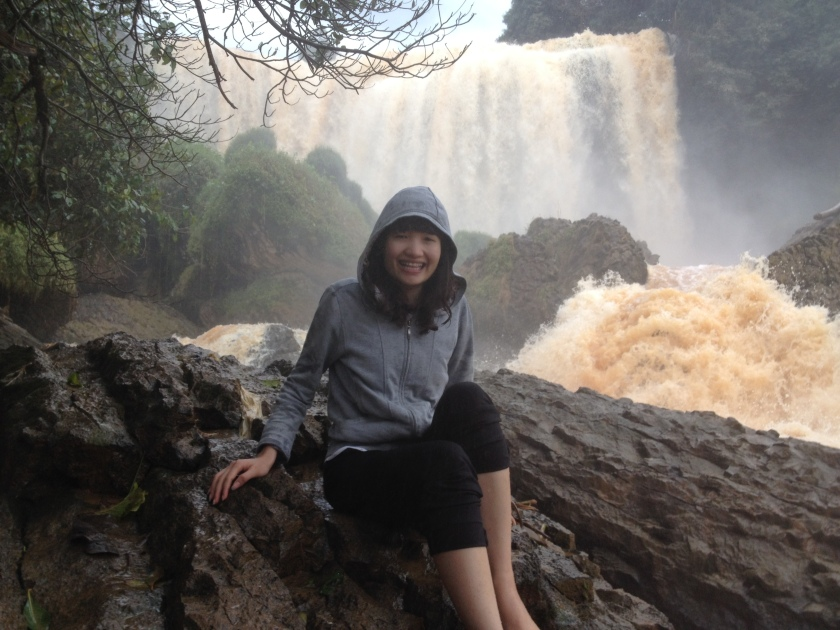 Me at the Elephant Water Fall