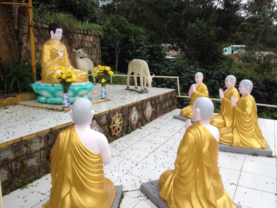 A Buddhist Pagoda in Dalat