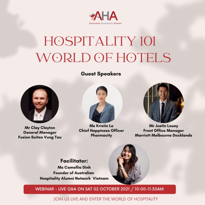 Webinar Hospitality 101: World ofHotels